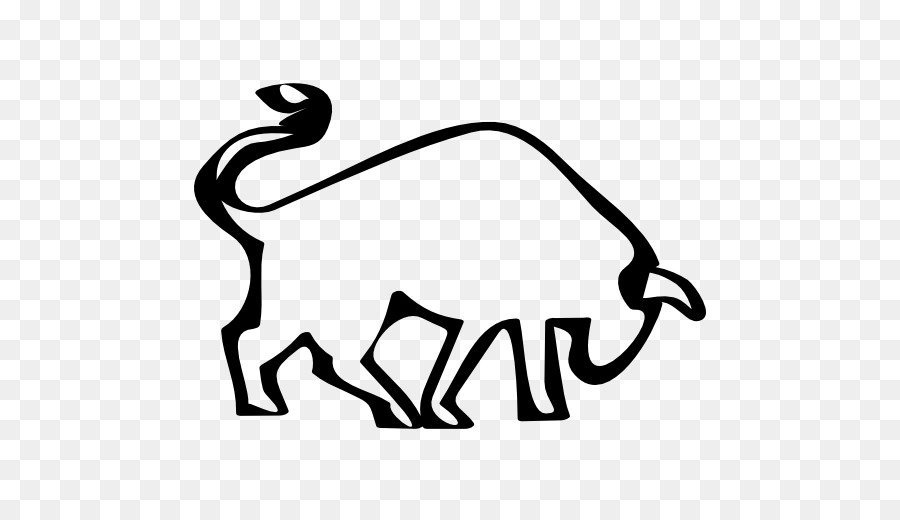 900x520 Bull Logo Drawing Clip Art