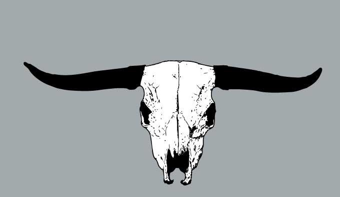 680x395 Bull Skull Vector Free Vectors Ui Download