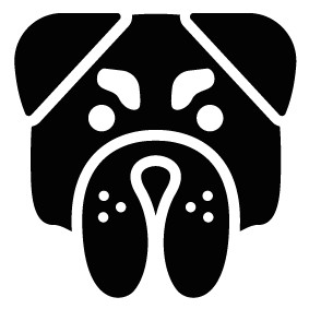 283x283 Collection Of Free Bulldog Vector Face. Download On Ubisafe