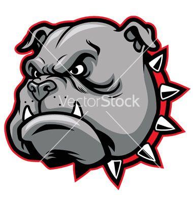380x400 Bulldog Head Mascot Vector Drawing Drawings And