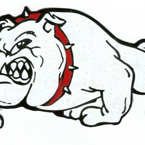 300x300 Photostock Vector Detailed Logo Of Bulldog Head Bulldog Mascot