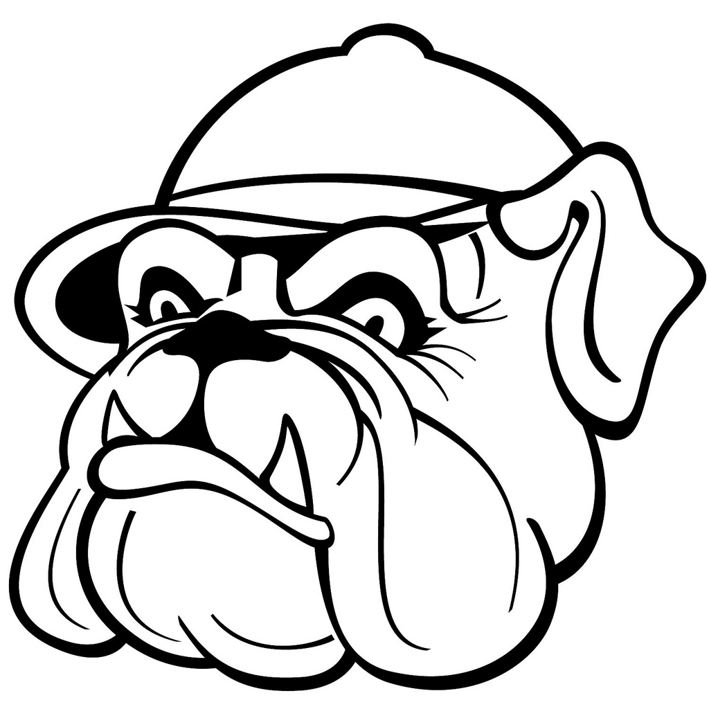 1024x1024 Bulldog Vector Image If You Want To Use This Image Free
