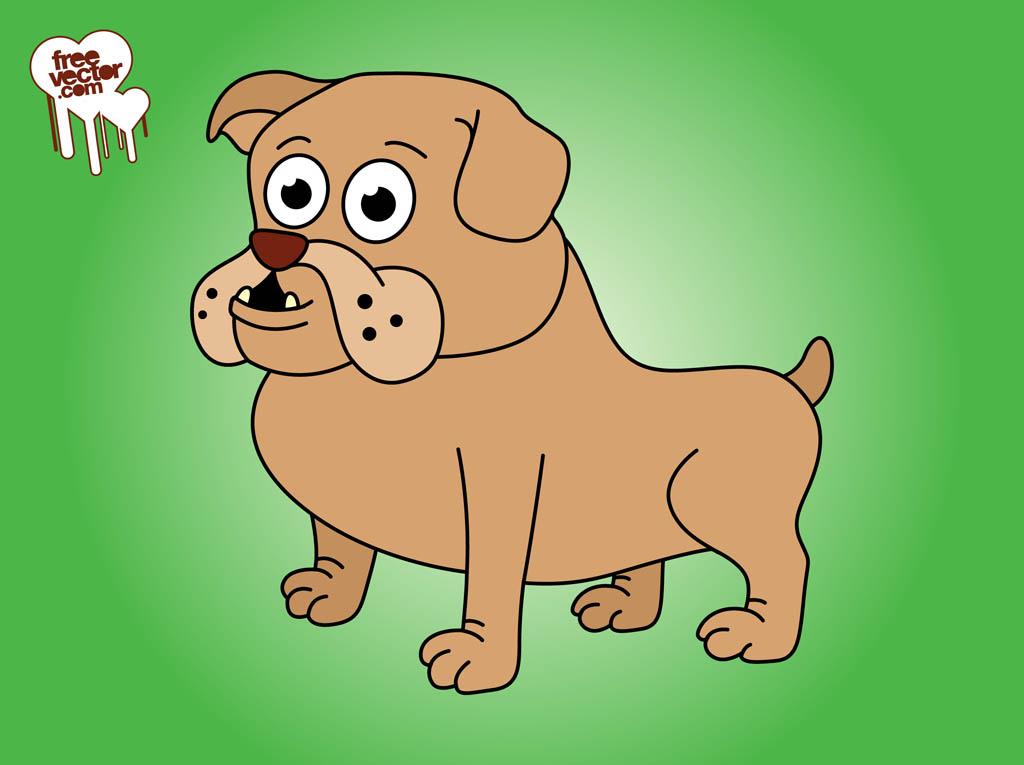 1024x765 Cartoon Bulldog Vector Art Amp Graphics