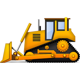 256x256 15 Dozer Vector Construction Equipment For Free Download On