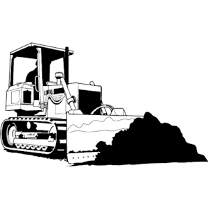 300x300 19 Bulldozer Clipart Library Download Vector Huge Freebie