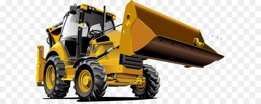 900x360 Tractor Bulldozer Backhoe Loader Heavy Equipment