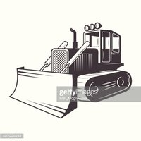 200x200 Vector Illustration Of Black And White Stock Vectors