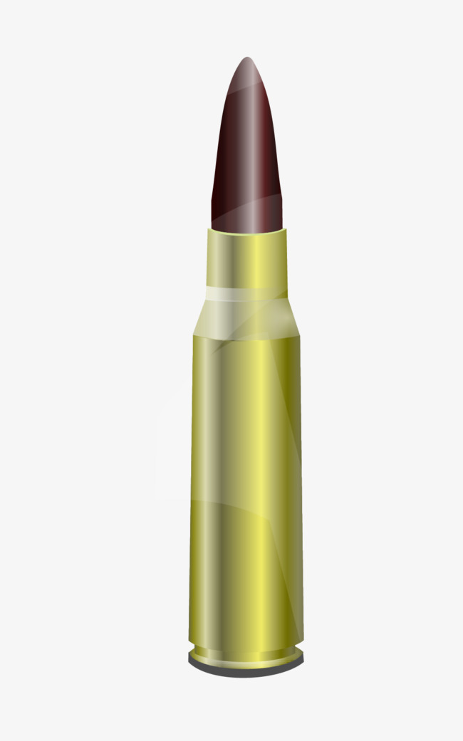650x1041 Bullet Vector Elements, Bullet Vector, Bullet, Metal Png And