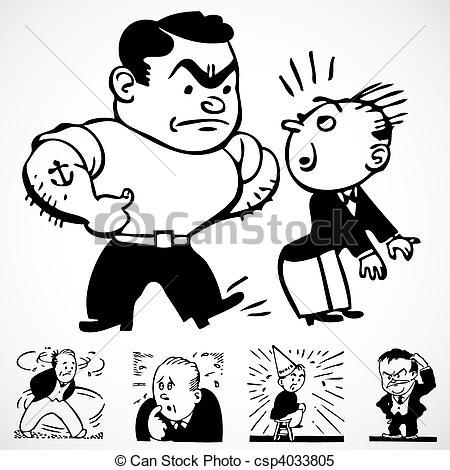 450x470 Bullying Clipart Illustration ~ Frames ~ Illustrations ~ Hd Images