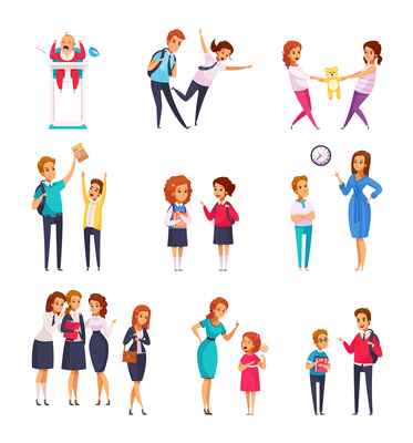 373x400 Bullying On Curated Vector Illustrations, Stock Royalty Free