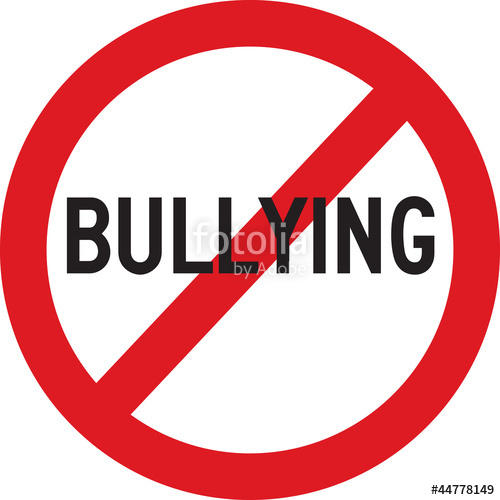 500x500 No Bullying Stock Image And Royalty Free Vector Files On Fotolia