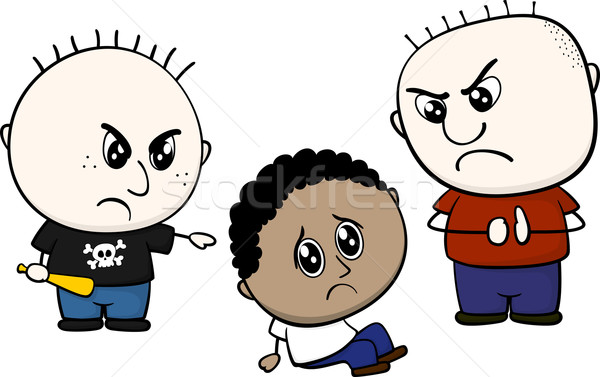 600x377 Bullying Brown Child Vector Illustration Sergio Hayashi