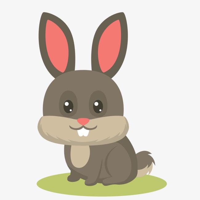 650x651 Cartoon Foolish Bunny Vector, Cartoon Vector, Bunny Vector, Bunny