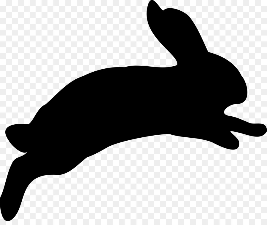 900x760 Clipart Bunny Vector