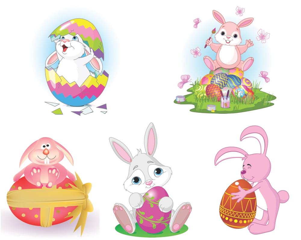 1000x800 Easter Bunny Vector Vector Graphics Blog