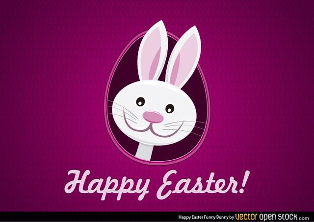 640x453 Free Vectors Happy Easter Funny Bunny Vector Open Stock