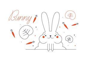 286x200 Rabbit Free Vector Art