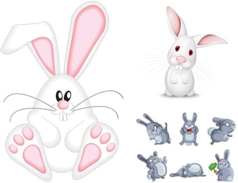 478x368 Rabbit Free Vector Download (713 Free Vector) For Commercial Use