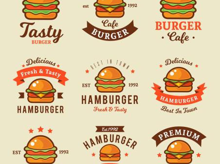 452x336 9 Color Hamburger Logo Vector Icons Free 9 Color Hamburger Logo Vector