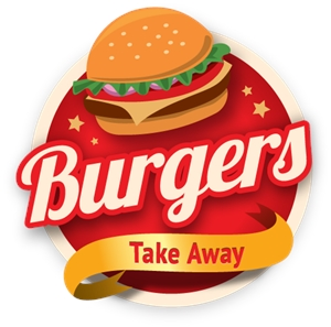 300x297 Burger Take Away Logo Vector (.ai) Free Download