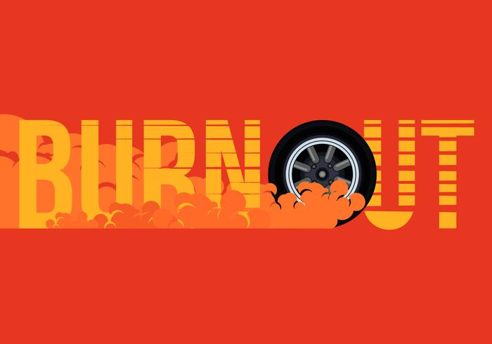 700x490 Car Drifting And Burnout Illustration