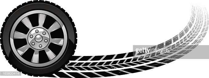 680x255 Wheels Clipart Burnout Cute Borders, Vectors, Animated, Black And