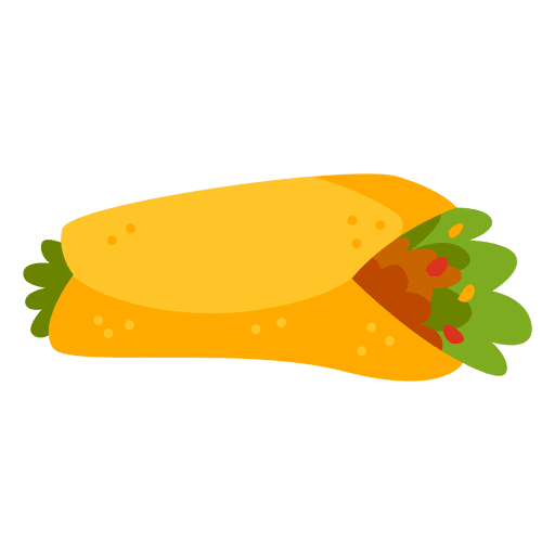 512x512 Collection Of Free Burrito Drawing Vector. Download On Ubisafe