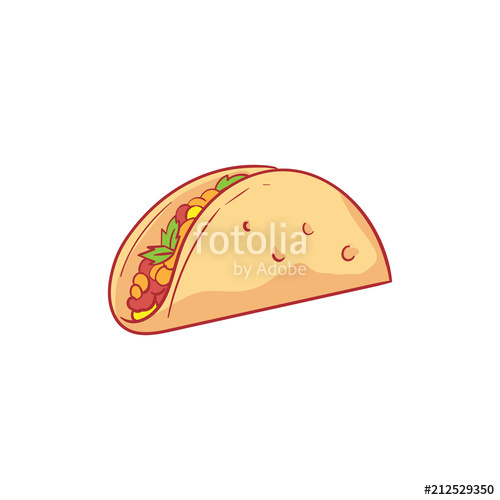 500x500 Burrito Vector Illustration Stock Image And Royalty Free Vector