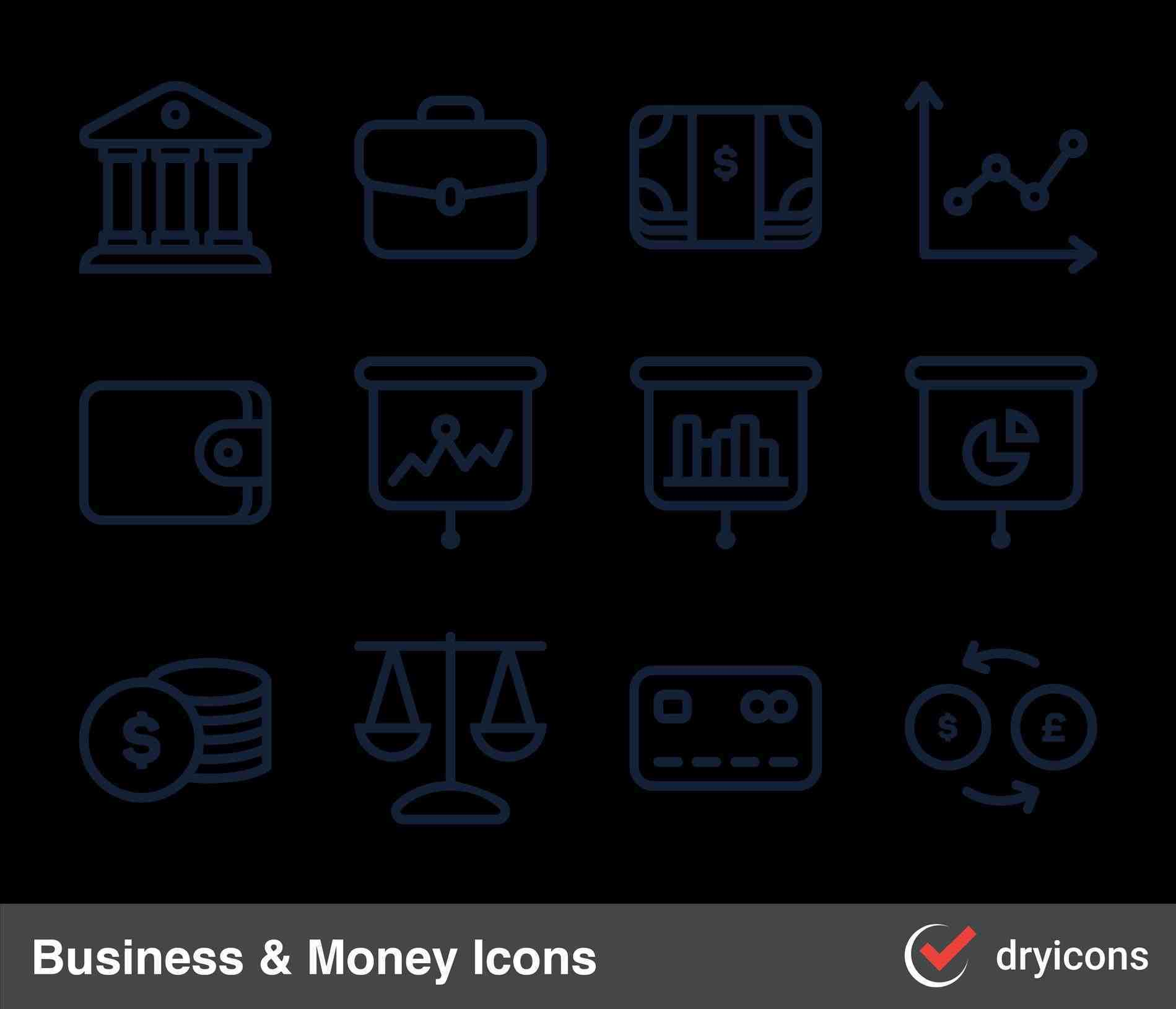 1899x1629 Business Card Icons