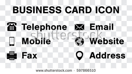 450x254 20 Beautiful Business Card Icons Vector