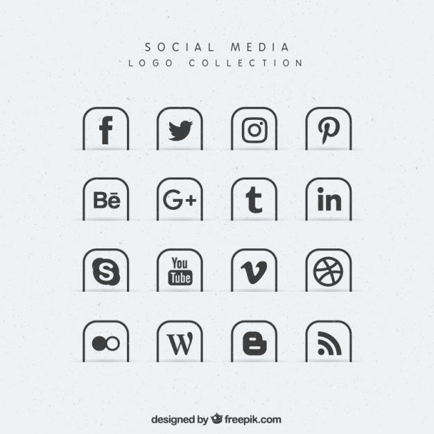 626x626 Speech Bubble Social Media Icon Pack Vector Social Media Icons