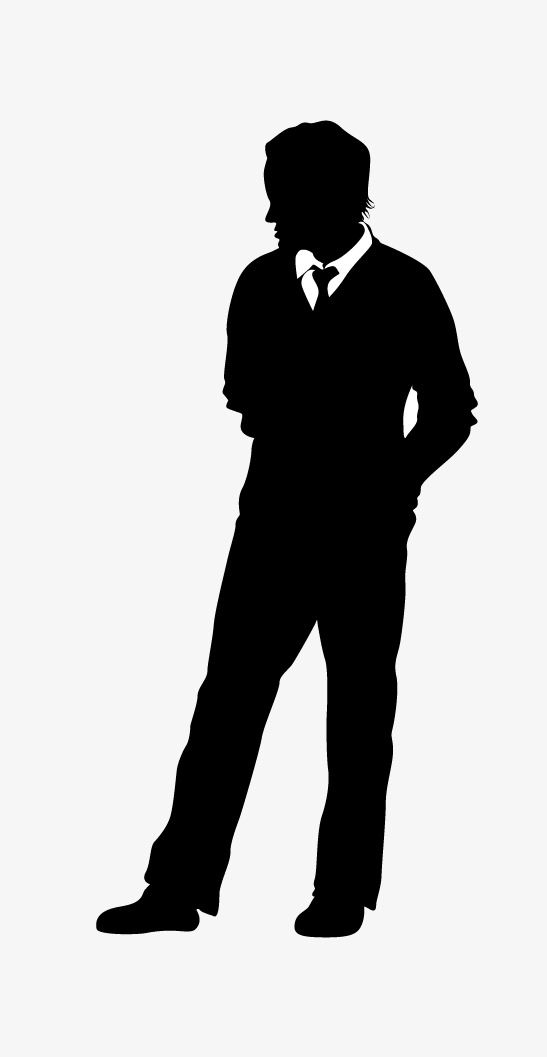 547x1057 Businessman Dressed In Formal Suit Vector Illustration, Suit