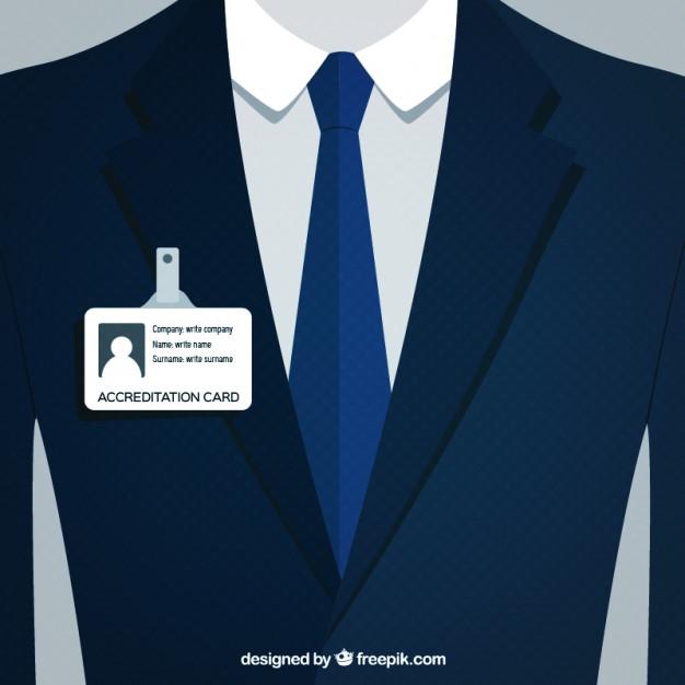 626x626 Businessman Suit Vector Premium Download