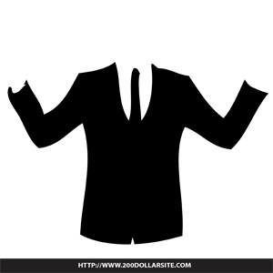 300x300 Free Business Suit Vector