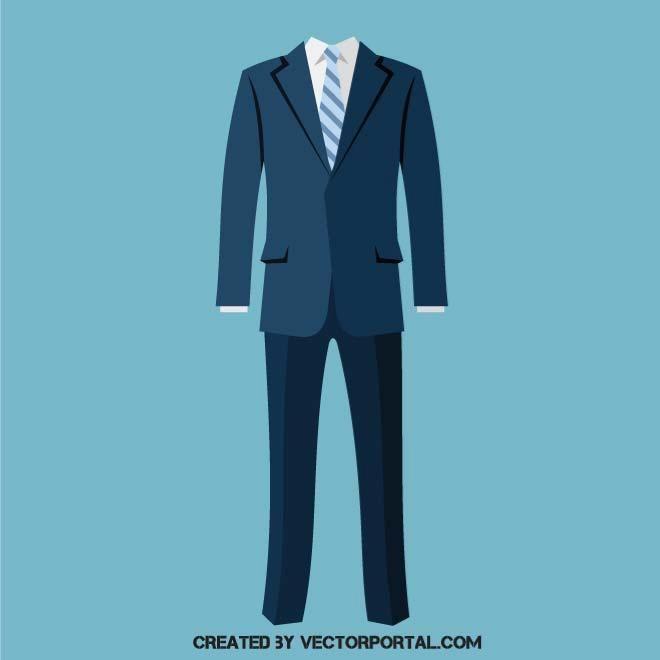 660x660 Business Suit Vector. Various Vectors Business