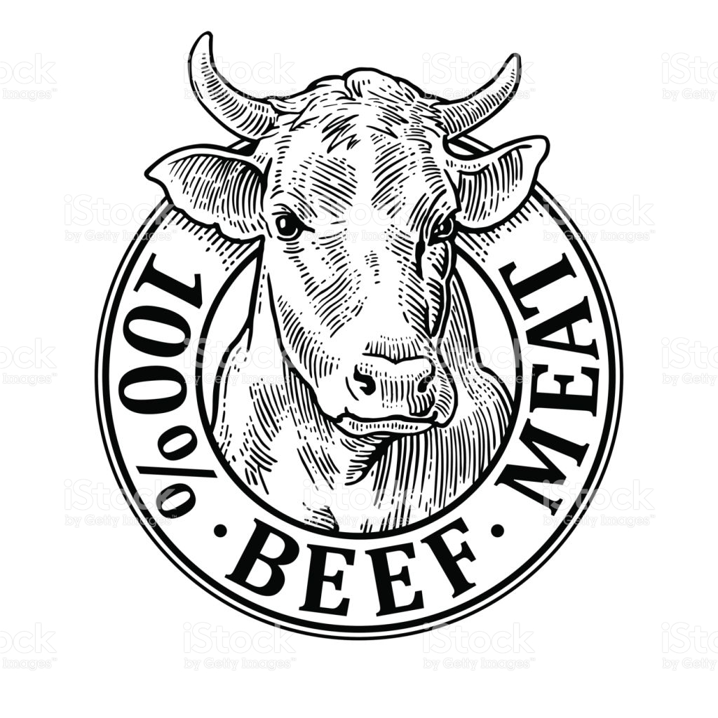 1024x1024 Ox Clipart Cow Meat