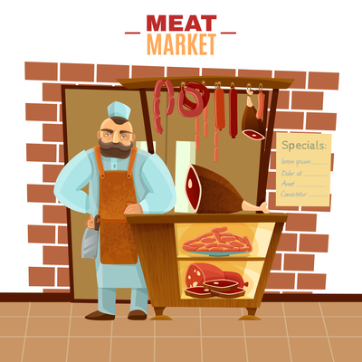 400x400 Page 1 Butcher On Curated Vector Illustrations, Stock Royalty Free