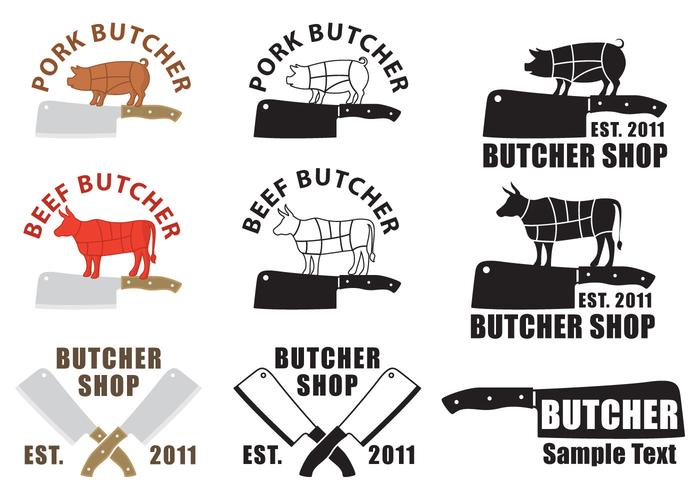 700x490 Butcher And Cleaver Logos
