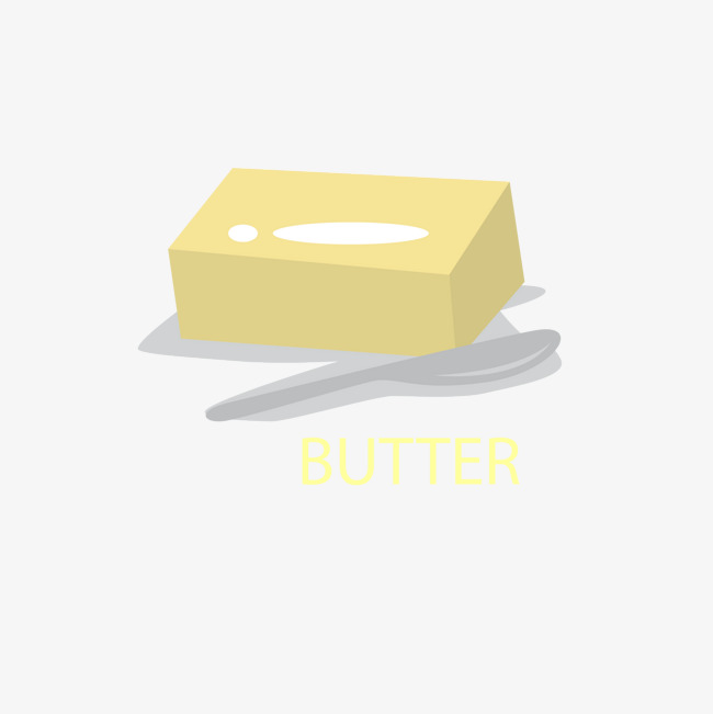 650x651 Yellow Butter And A Gray Spoon, Yellow, Butter, Gray Png And