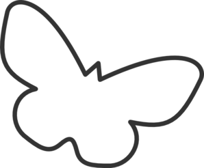 Butterfly Vector Outline