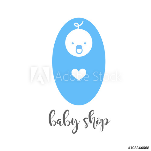 500x500 Baby Shop.mother And Baby.baby Logo.child