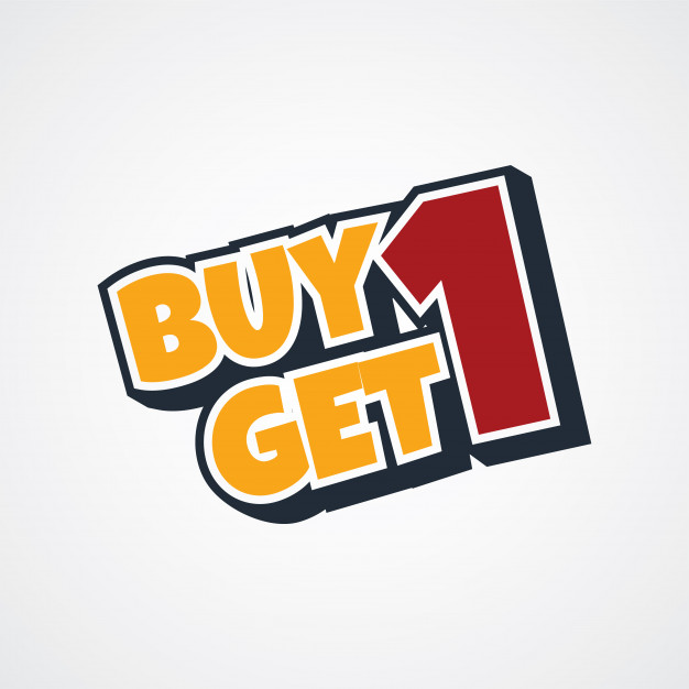 626x626 Buy One Get One Free Theme Vector Art Illustration Vector