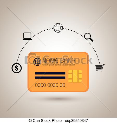 450x470 Credit Card Money Buy Vector Illustration Eps 10.