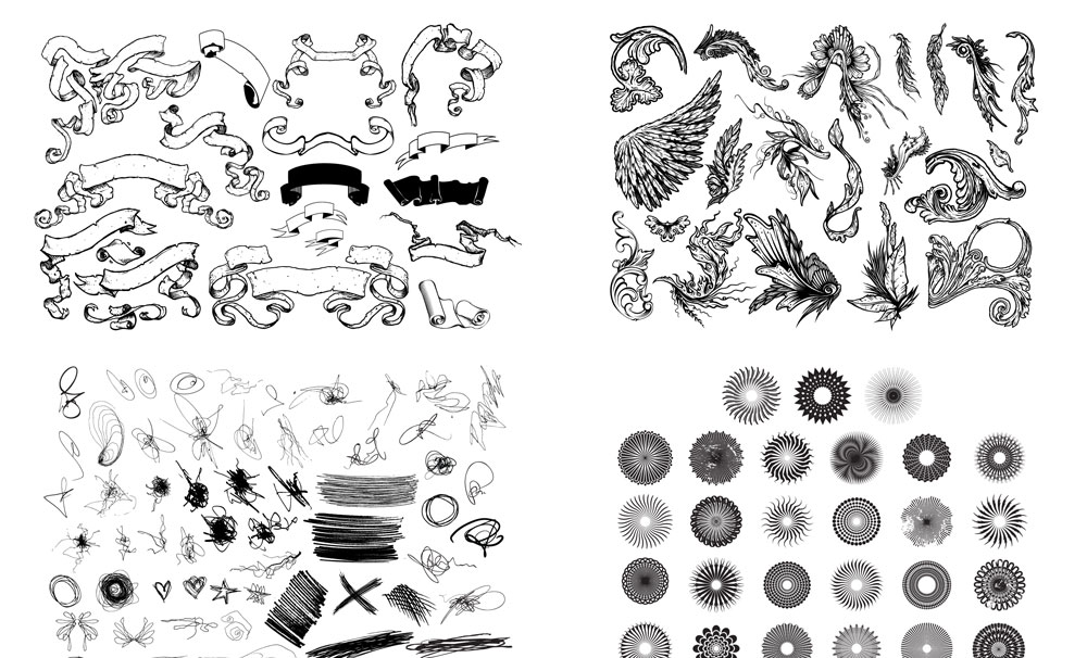 1000x606 Huge Vector Graphics Collection