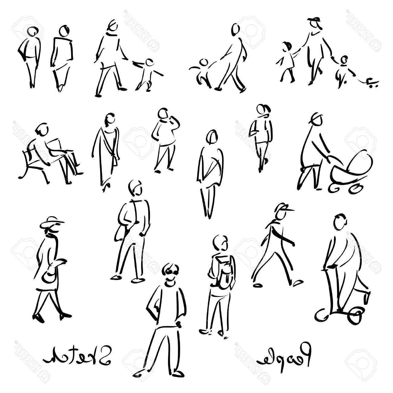 1300x1300 Best Hd Vector People Outline Image Free Vector Art, Images