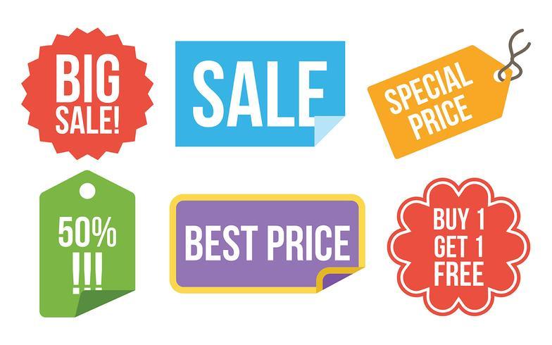 784x490 Price Flash Vector Icons