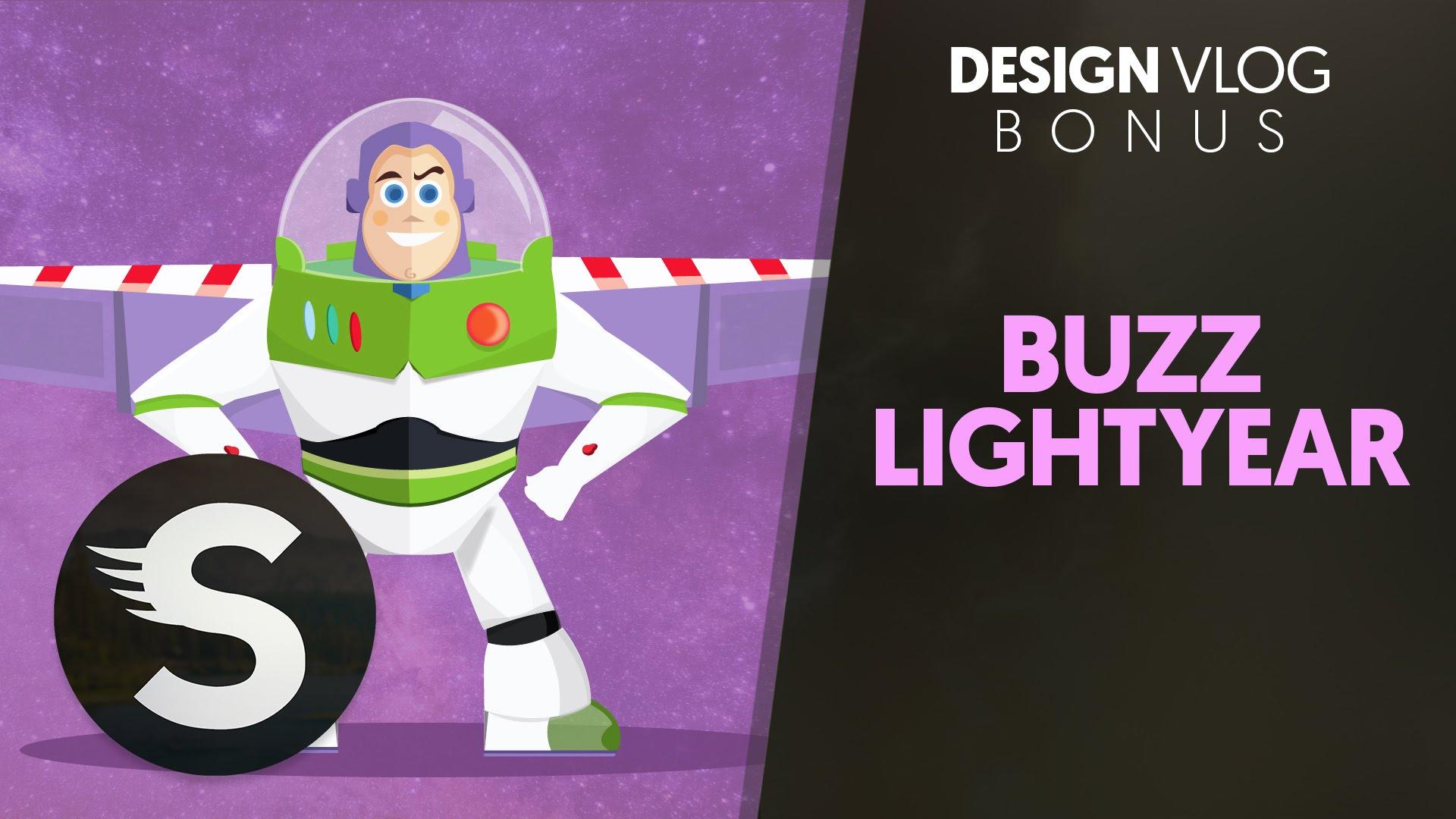 1920x1080 Design Vlog Buzz Lightyear Vector (Bonus)