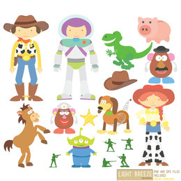 260x260 Download Woody And Jessie Vector Clipart Jessie Sheriff Woody Buzz