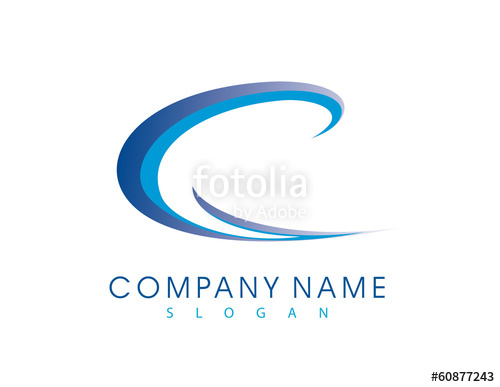 500x387 C Wave Logo Stock Image And Royalty Free Vector Files On Fotolia