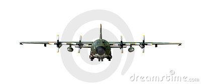 400x167 C 130j Hercules Clipart